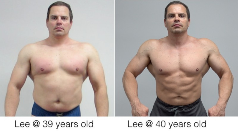 Lee Hayward Muscle After 40