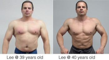 Lee Hayward Ripped at 40