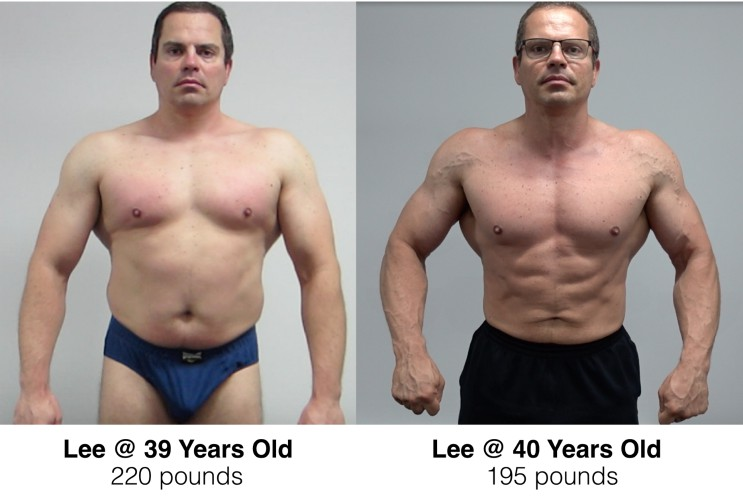 Lee Hayward Before & After